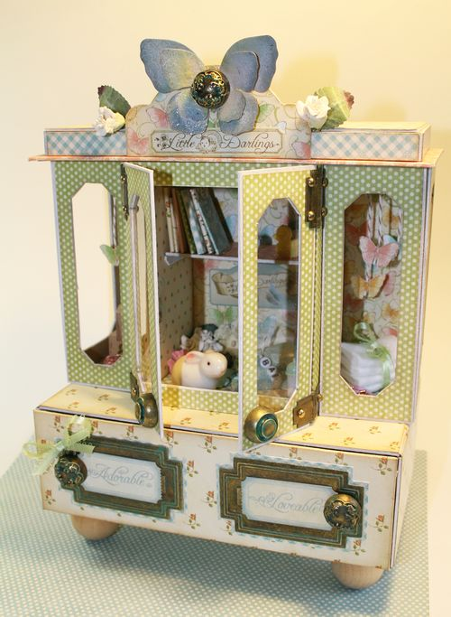 Graphic45 Laura Denison Little Darling Cabinet