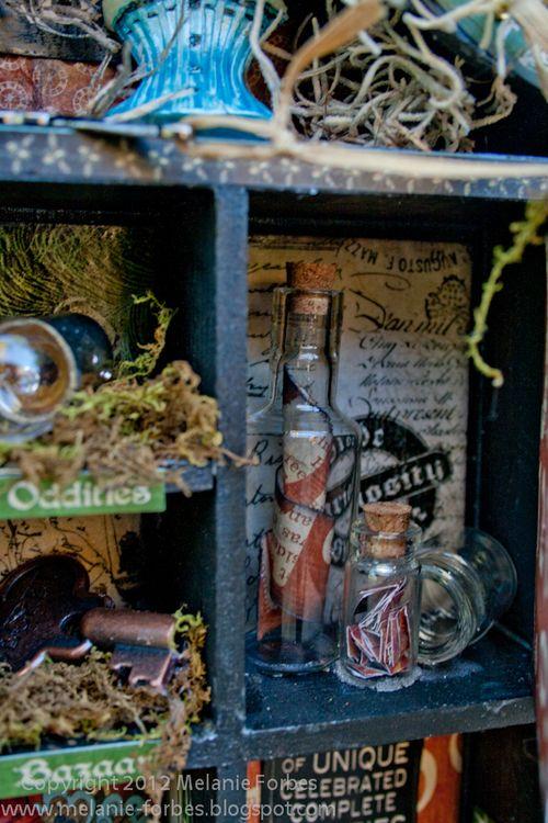 Olde Curiosity Shoppe Altered Art