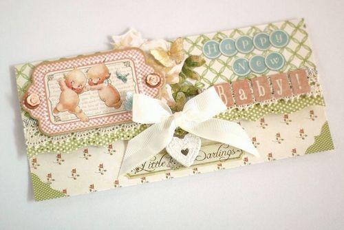 Graphic 45-Little Darlings-Envelope-YukaHino-1