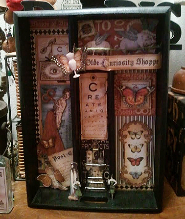 Olde Curiosity Shoppe Printers Tray