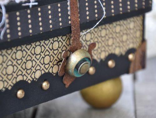 Susan Lui Graphic 45 Renaissance Faire Curtain Call Altered Box 7