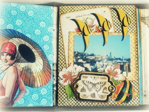 Alberto Juarez Graphic45 Tropical Travelogue mini album 11