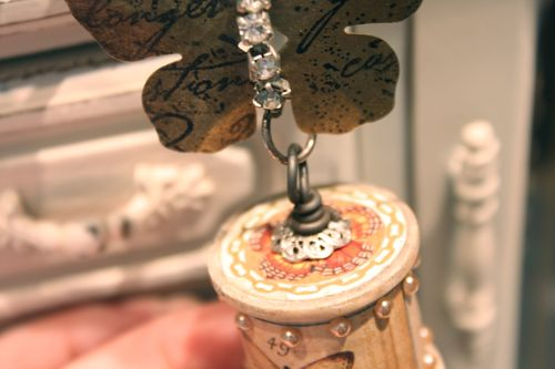 Denise Hahn Graphic 45 Olde Curiosity Shoppe Necklace - 3
