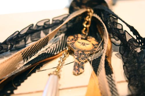 Denise Hahn Graphic 45 Olde Curiosity Shoppe Necklace - 4