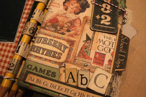 Denise Hahn Graphic 45 ABC Primer Mini Album - 05