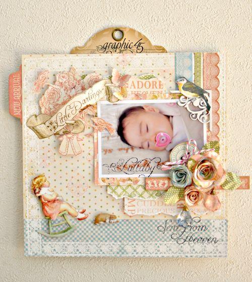 Maiko Miwa Graphic457 LittleDarlings layout
