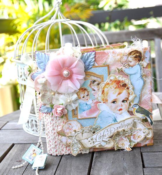 Susan Lui Graphic 45 Little Darlings Mini Album 1