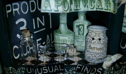 Olde Curiosity Shoppe Altered Art
