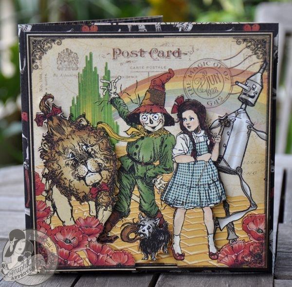 Susan Lui Graphic 45 Magic of Oz 3D Card 1
