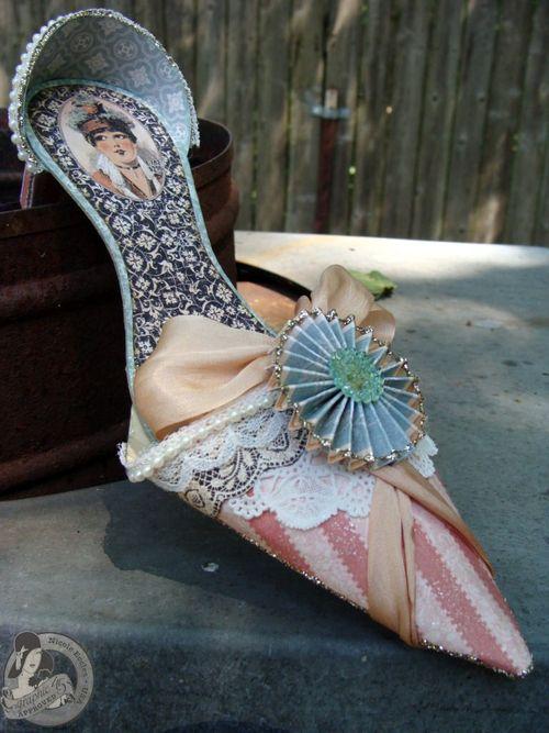 1 Nicole Eccles- July CHA- G45 Ladies Diary- High  Heel Shoe