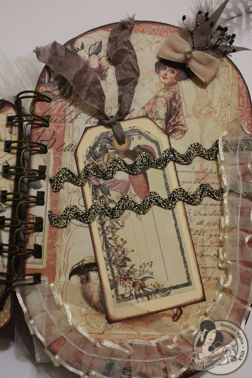Denise Hahn CHA A Ladies Diary Mini Album Graphic 45 - 12-imp