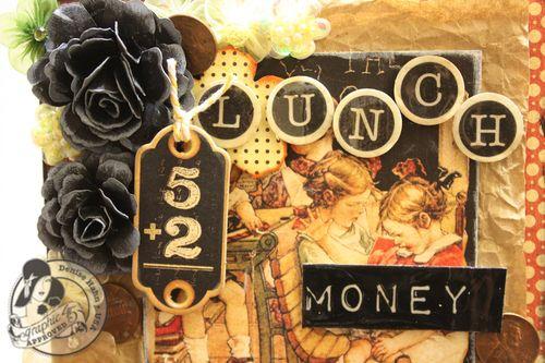Denise Hahn Graphic 45 ABC Primer Back to School Lunch Money Box - 4-imp