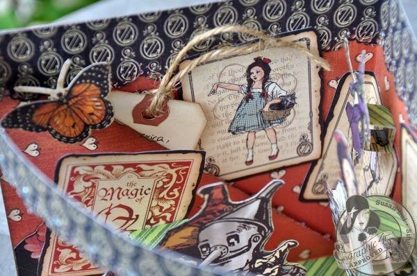 Susan Lui Graphic 45 Magic of Oz 3D Card 8