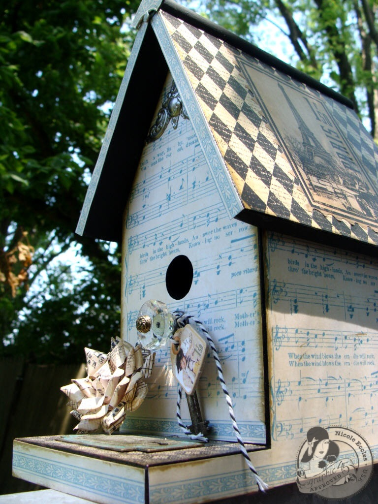 1 Nicole Eccles G45 Little Darlings Birdhouse