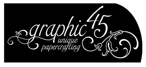 Graphic 45 black logo