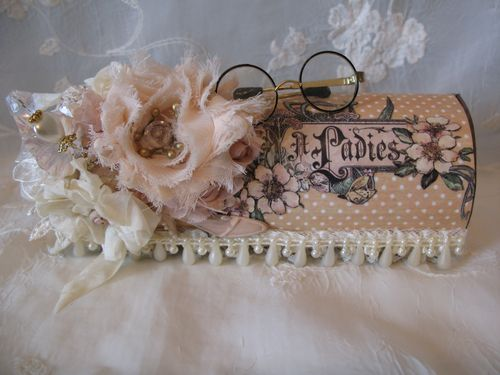 A Ladies' Diary Altered Art