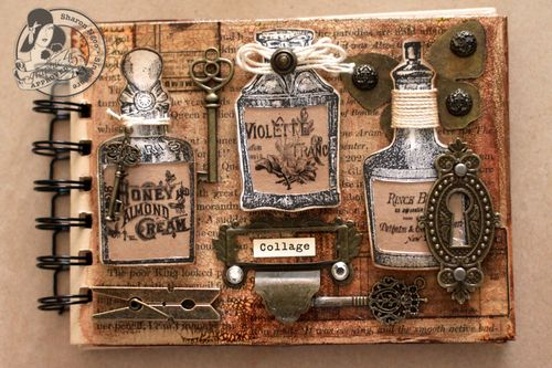 Graphic45 Sharon Ngoo envelope sketch book Staples & Stamps