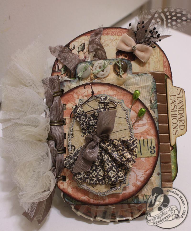 Denise Hahn CHA A Ladies Diary Mini Album Graphic 45 - 01-imp