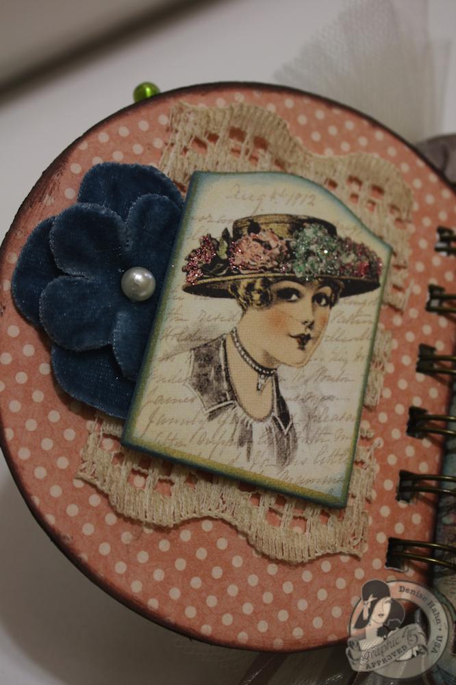 Denise Hahn CHA A Ladies Diary Mini Album Graphic 45 - 06-imp