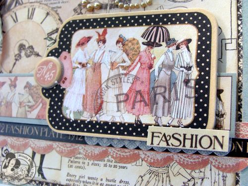 5  Nicole Eccles- July CHA Graphic 45 Ladies Diary- Card