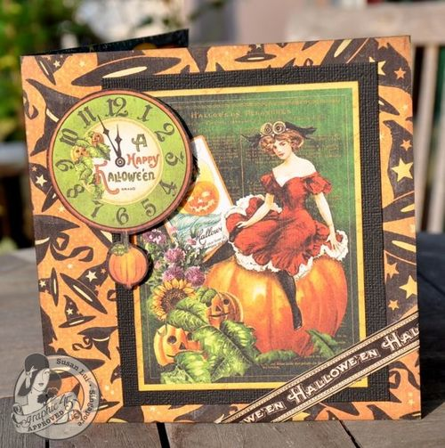 Susan Lui Graphic 45 CHA Happy Haunting Card 1