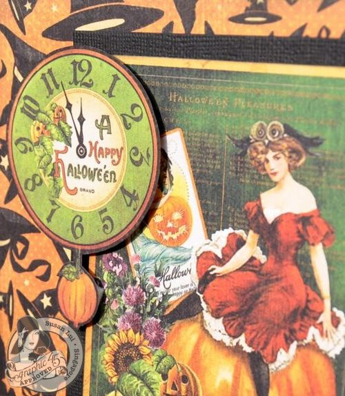 Susan Lui Graphic 45 CHA Happy Haunting Card 2