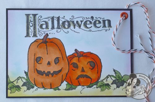 Happy Haunting Stamp Tutorial Gloria Stengel