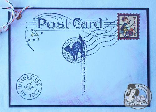 Happy Haunting Stamp Tutorial Gloria Stengel