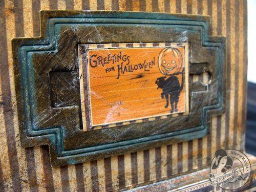 10 Nicole Eccles- August - G45 Happy Haunting Altered Clock