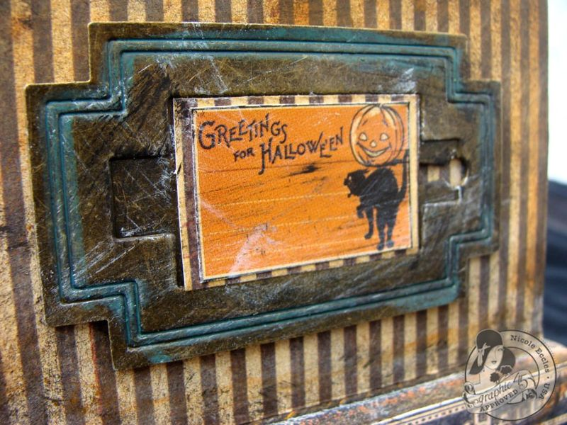 10 Nicole Eccles- August - G45 Happy Haunting Altered Clock