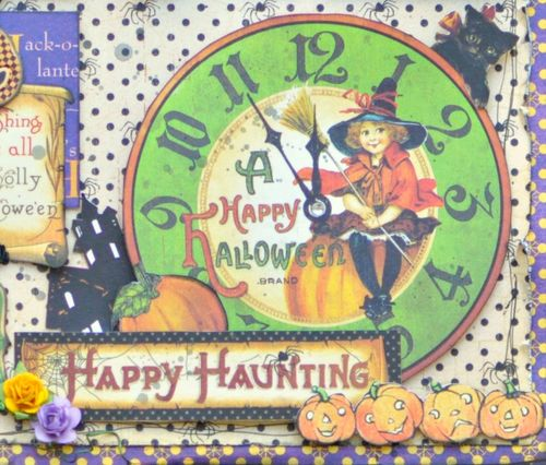 Happy Haunting Layout Graphic 45