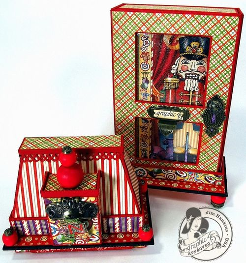 Nutcracker Sweet Altered Art Box