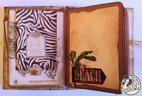 Tropical Travelogue Mini Album Graphic 45