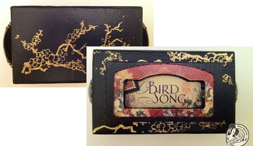 Bird Song Matchbook Box