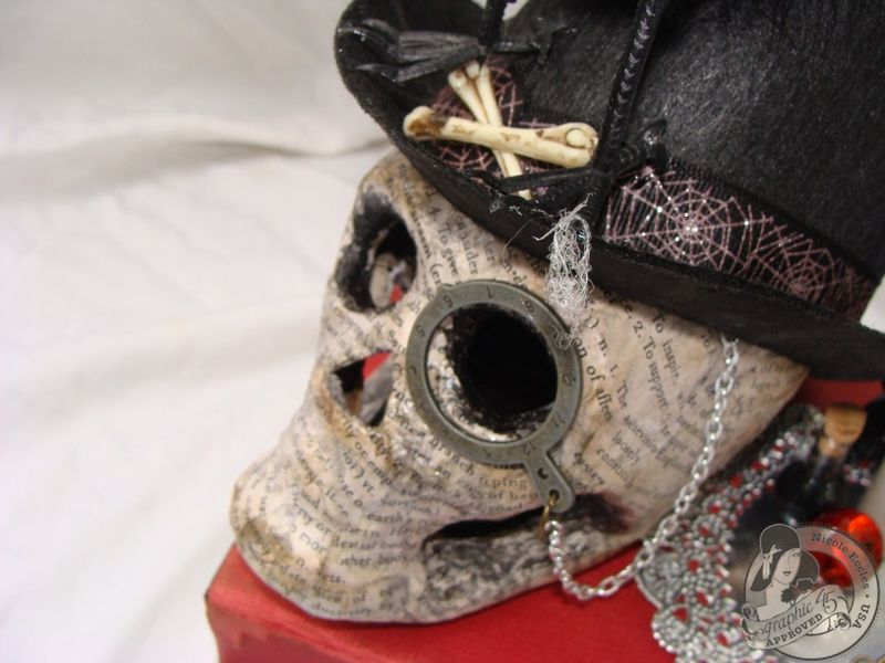 Nicole Eccles- G45 Happy Haunting- Altered Art Box Assemblage 6