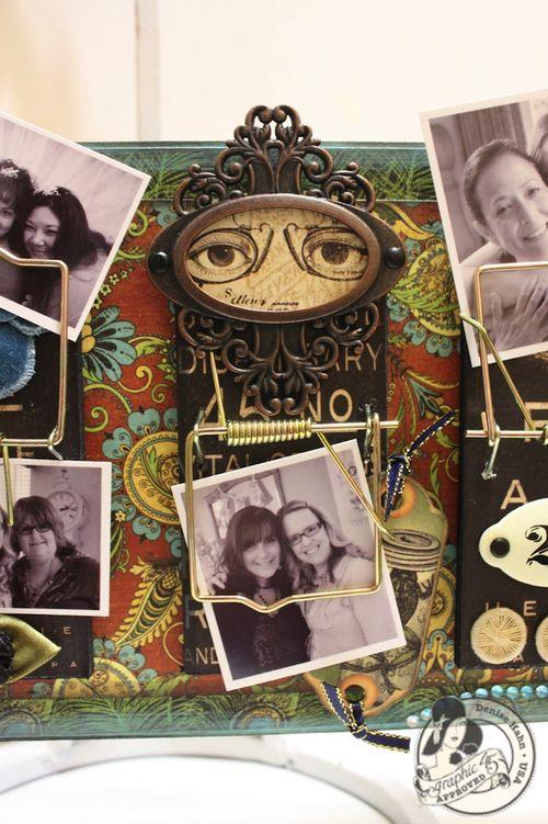 Denise Hahn Olde Curiosity Shoppe Altered Mouse Trap Picture Holder - 04-imp
