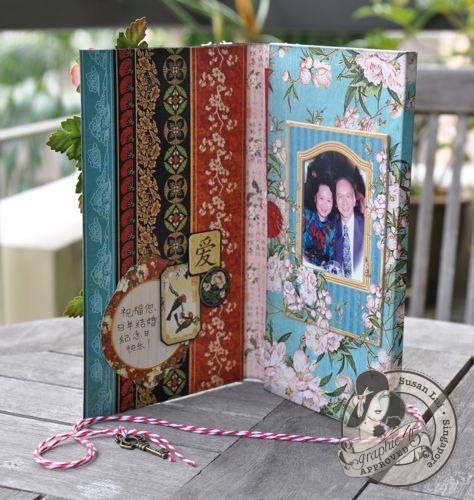 Susan Lui Graphic 45 Bird Song Gift Card 3