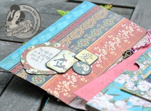 Susan Lui Graphic 45 Bird Song Gift Card 4