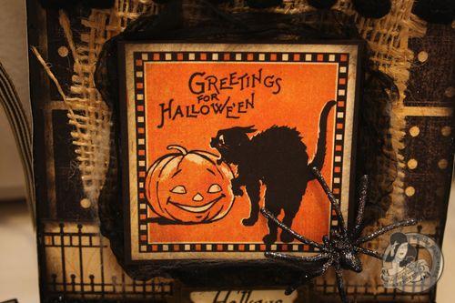 Denise Hahn Graphic 45 Happy Hauntings Halloween Banner - 7-imp