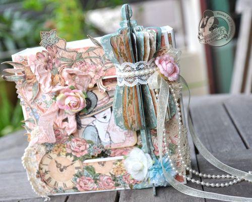 Susan Lui Graphic 45 Ladies Diary Art Box & Mini_ Bangkok 1