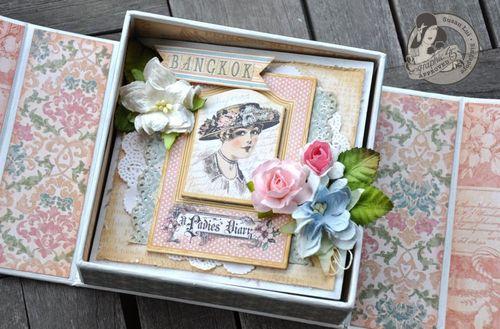 Susan Lui Graphic 45 Ladies Diary Art Box & Mini_ Bangkok 5