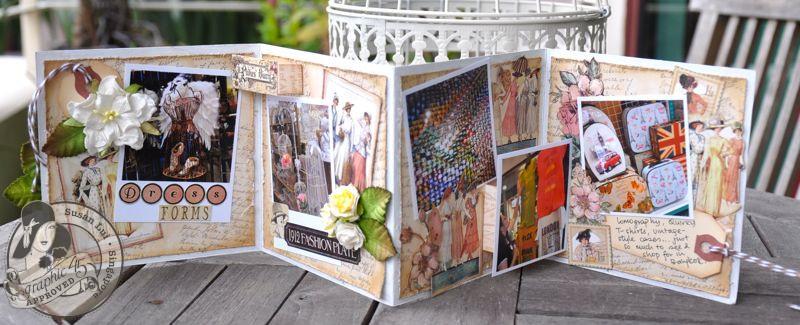 Susan Lui Graphic 45 Ladies Diary Art Box & Mini_ Bangkok 8