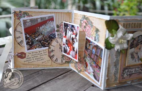 Susan Lui Graphic 45 Ladies Diary Art Box & Mini_ Bangkok 15