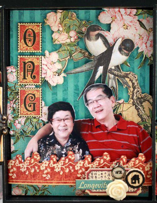 Graphic45 Sharon Ngoo Photo Tray BirdSong - compartment8