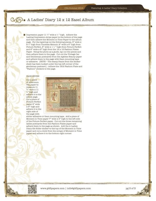 Graphic45-ALadiesDiary12x12EaselAlbum_2pg3