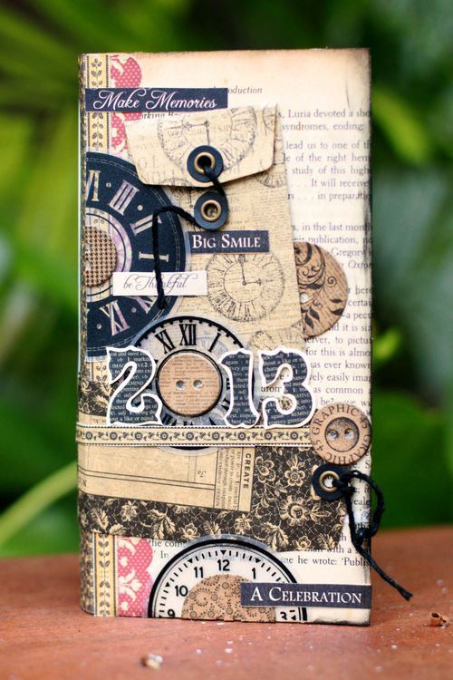Graphic45 Sharon Ngoo Place in Time Pocket Diary