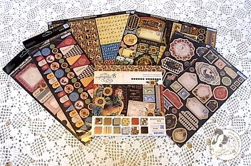 Graphic 45 French Country Collection Prize Package