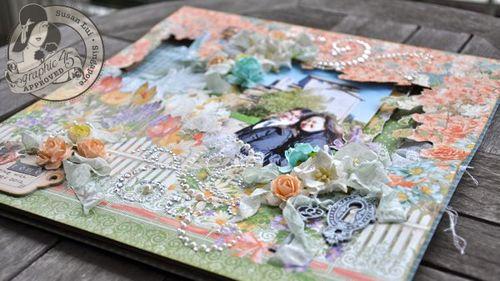 Susan Lui Graphic 45 Secret Garden Rome Layout 3