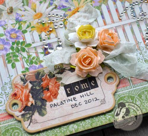 Susan Lui Graphic 45 Secret Garden Rome Layout 6