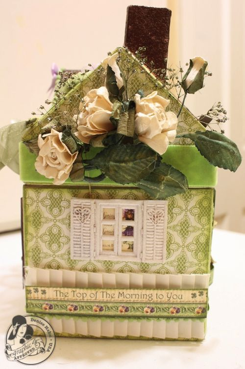 Denise Hahn Place in Time and Secret Garden Paper Mache Cottage - 4-imp